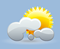 some clouds, winds: 5kph calm, windchill: 9°c