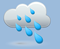 mod rain, winds: 5kph calm, windchill: 11°c, Rain: 8