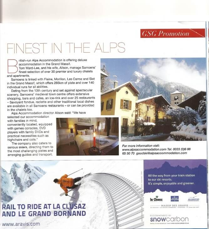 Good Ski Guide 2009 - Alps Accommodation