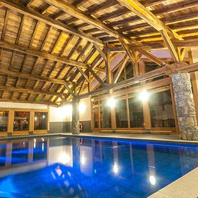 Chardons G1 Samoens   Swiming Pool
