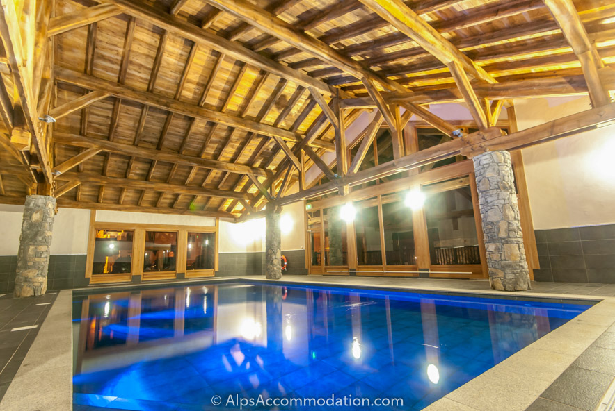MAIN Chardons MGM 4 bedroom Samoens   Swimming Pool