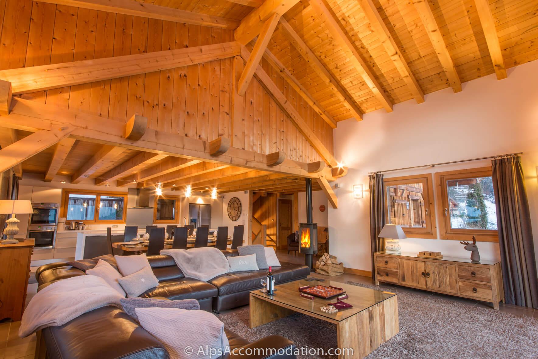 Chalet Foehn - Samoens - 5/6 chambres chalet avec jacuzzi, 200m du ...