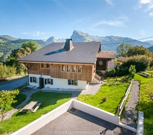 La Ferme, Samoens, spectacular views