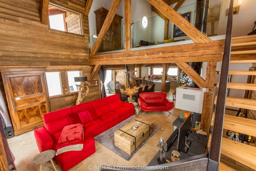Chalet Sole Mio Morillon A stunning 275m2 luxury chalet