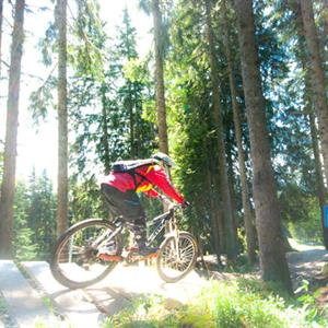 Mountain biking around Samoens and the Grand Massif