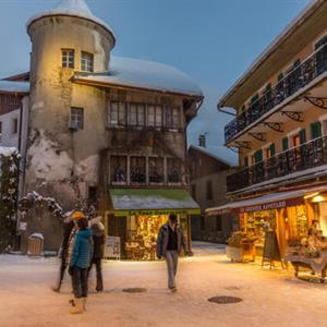 Samoens village centre