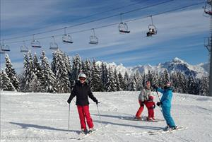 Skiing in Morillon and the Grand Massif