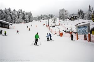 Skiing in Morillon