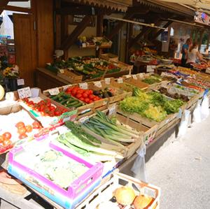 Samoens market and various local shops serve wonderful local produce.
