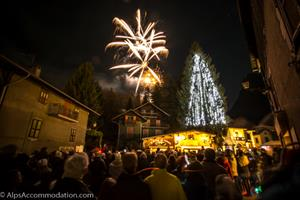 Christmas week celebrations in Samoens