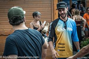 The Enduro World Series   Fabien Barel mixing with the locals