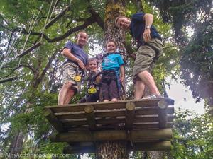 Adventure parks in Morillon and Samoens