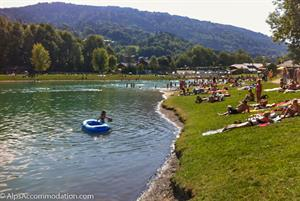 Morillon mountain lake - Lac Bleu - ideal for swimming