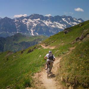 Mountain Biking in the Grand Massif