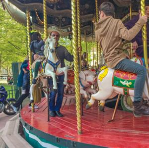 Carousel in Annecy