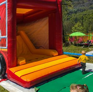 Inflatables open weekends in the Spring and Autumn