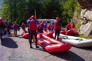 Lets go rafting in Samoens