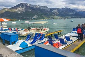 Annecy lake, boat hire open spring summer and autumn