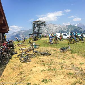 Mountain biking in Samoens