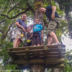 Adventure parks in Samoens