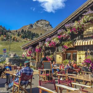 Mountain restaurants with fantastic views