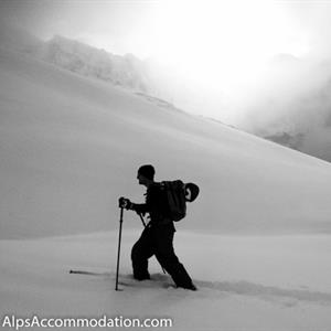 Deep reliable snow in the Grand Massif