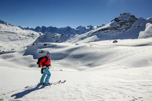 Ski touring in the Grand Massif
