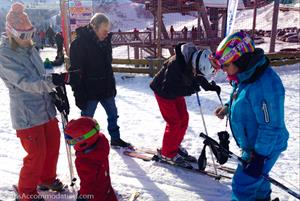 Samoens host several excellent ski schools