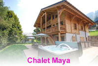 Stunning chalet with hot tub close to the pistes and gondola of Vercland Samoens