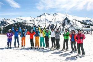 Colourful fun in the sun at Samoens 1600