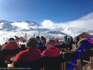 Mountain restaurants in the Spring