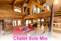 A stunning 5/6 bedroom chalet in Morillon located on the piste