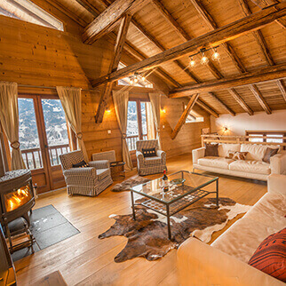 Spacious 5 bedroom chalets in Samoens