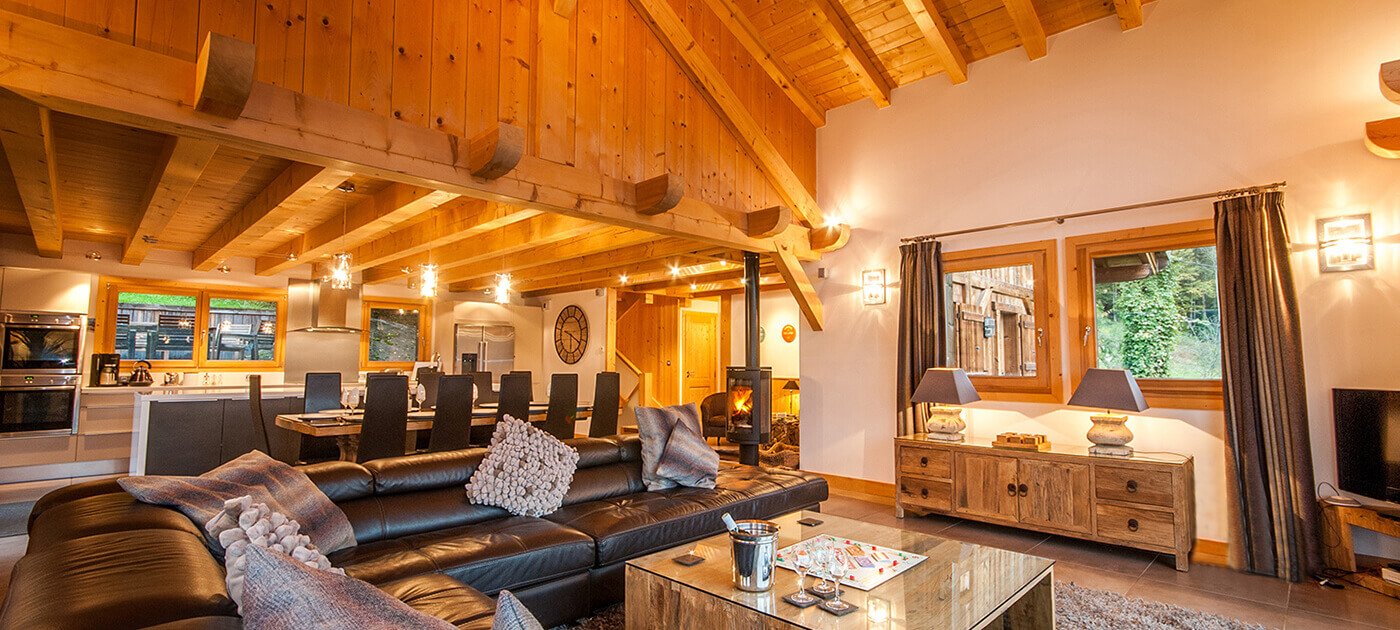 Luxurious apartments and chalets in Morillon and Samoens
